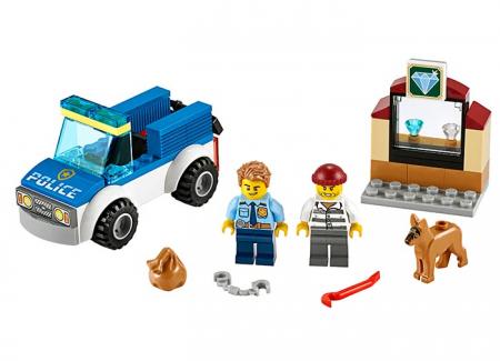 LEGO® City: Unitate de politie canina 602410