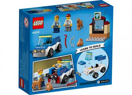 LEGO® City: Unitate de politie canina 602411