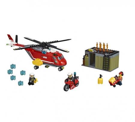 Lego City Unitatea de interventie de pompieri 601082