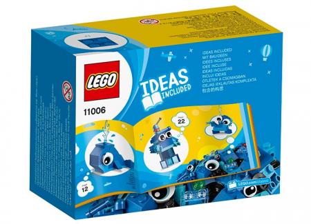 LEGO® Classic: Caramizi creative albastre 110061