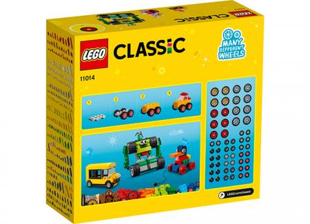 LEGO® Classic: Caramizi si roti 11014 [1]