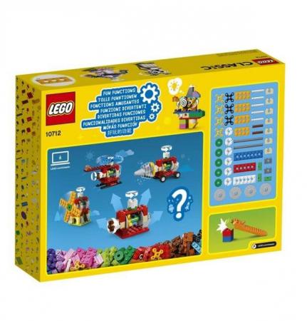 Lego Classic Caramizi si roti variate 107122