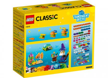 LEGO® Classic: Caramizi transparente 110131