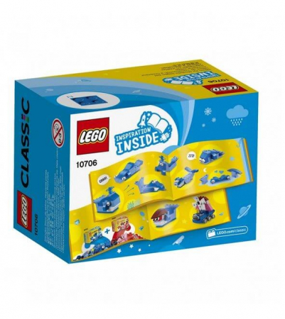 Lego Classic Cutie albastra de creativitate 107062
