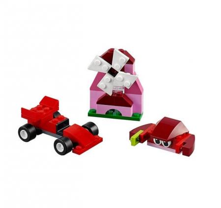 Lego Classic Cutie rosie de creativitate 107072
