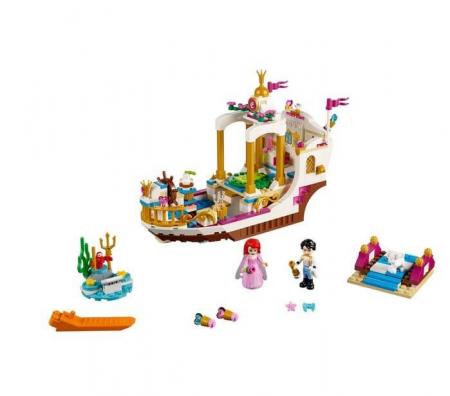 Lego Disney Princess Ambarcatiunea regala a lui Ariel 411532