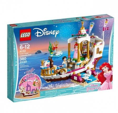 Lego Disney Princess Ambarcatiunea regala a lui Ariel 411530
