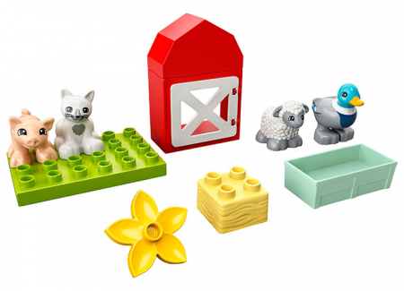 LEGO® DUPLO® : Ingrijirea animalelor de la ferma 109490