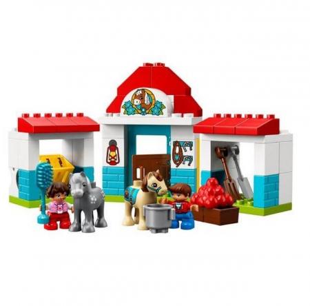 Lego Duplo Town Grajdul poneilor 108681