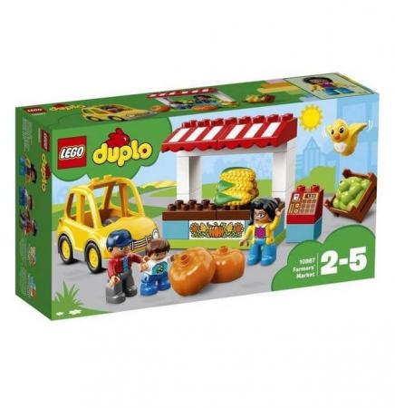 Lego Duplo Town Piata fermierilor 108670
