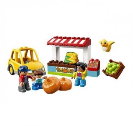 Lego Duplo Town Piata fermierilor 108672