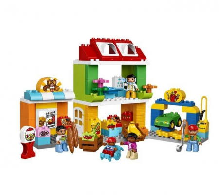LEGO® DUPLO® Town Piata mare a orasului 10836 [1]