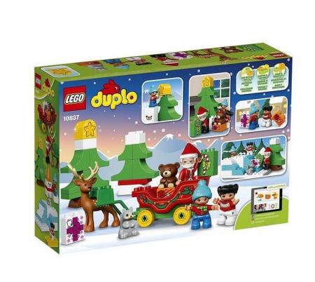 Lego Duplo Town Vacanta de iarna cu Mos Craciun 108372