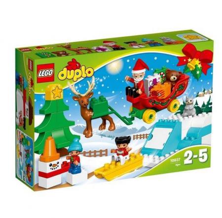 Lego Duplo Town Vacanta de iarna cu Mos Craciun 108370