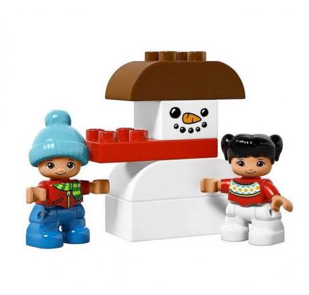 Lego Duplo Town Vacanta de iarna cu Mos Craciun 108373