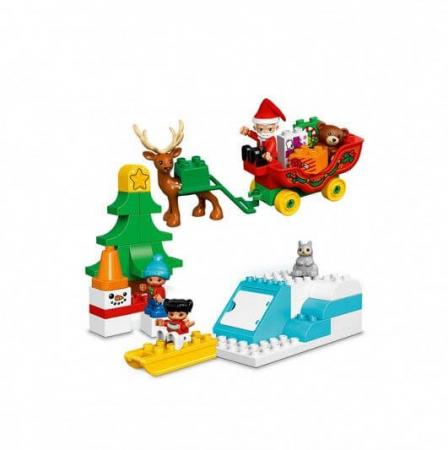 Lego Duplo Town Vacanta de iarna cu Mos Craciun 108371