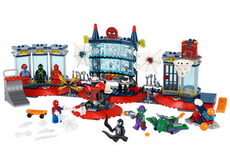 LEGO® Marvel Super Heroes: Atacul asupra bazei lui Spider-Man 76175 [0]