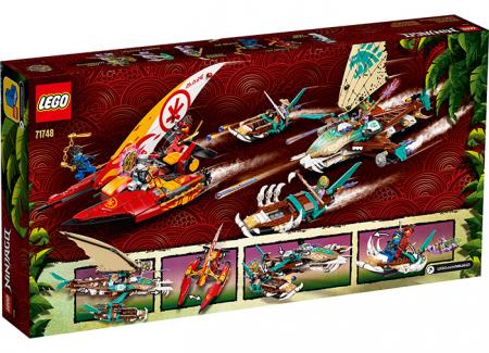 LEGO® NINJAGO® : Batalia cu catamarane 71748 [1]