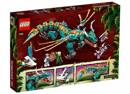 LEGO® NINJAGO® : Dragonul din jungla 717461