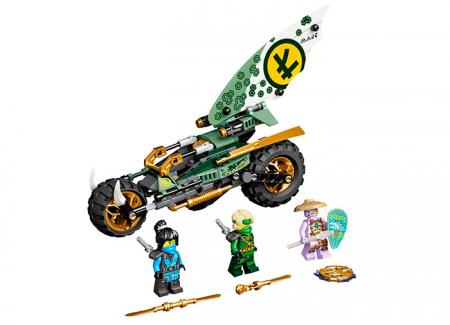 LEGO® NINJAGO® : Motocicleta de jungla al lui Lloyd 717450