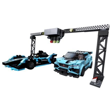 76898 LEGO® Speed Champions: Formula E Panasonic Jaguar Racing GEN2 & Jaguar I-PACE eTROPHY 1