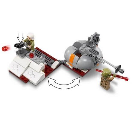 Lego Star Wars Apararea planetei Crait 752023
