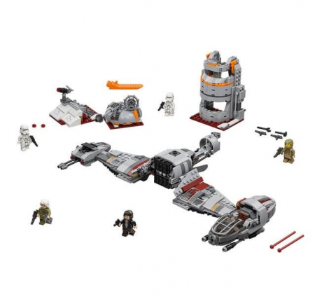 Lego Star Wars Apararea planetei Crait 752021