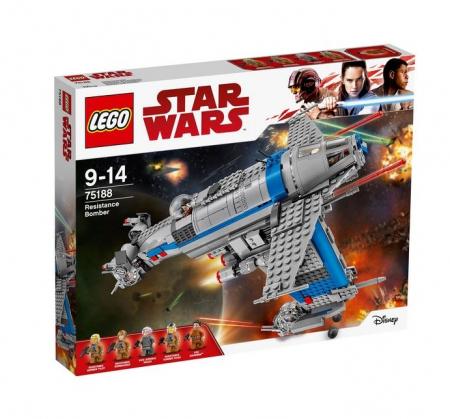 Lego Star Wars Bombardier al Rezistentei 751880