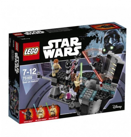Lego Star Wars Duel pe Naboo 751692