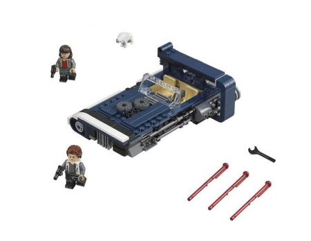 Lego Star Wars Han Solo's Landspeeder 752092