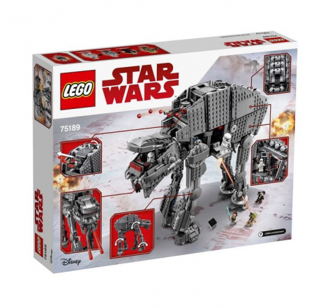 Lego Star Wars Heavy Assault Walker al Ordinului Intai 751892