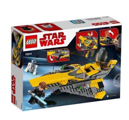 Lego Star Wars Jedi Starfighter al lui Anakin 752141