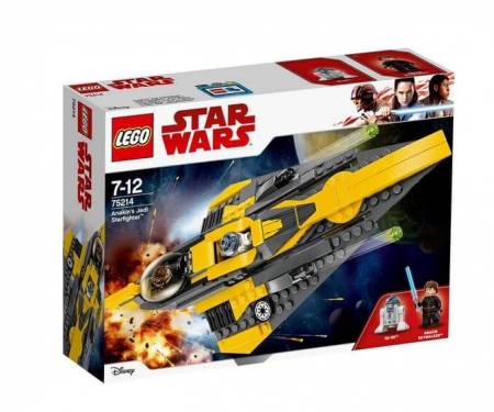 Lego Star Wars Jedi Starfighter al lui Anakin 752140