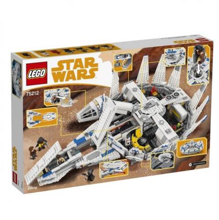 Lego Star Wars Millennium Falcon 752124