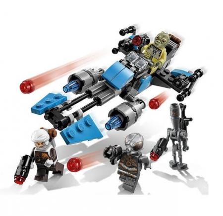 Lego Star Wars Motocicleta de viteza Bounty Hunter 751673