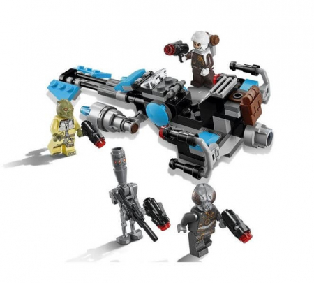 Lego Star Wars Motocicleta de viteza Bounty Hunter 751679