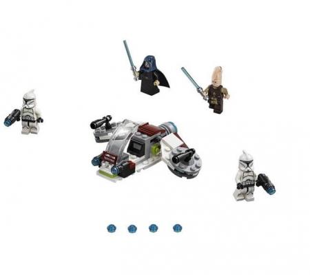 Lego Star Wars Pachet de lupta Jedi si Clone Troopers 752066