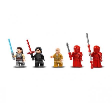 Lego Star Wars Sala tronului lui Snoke 752162