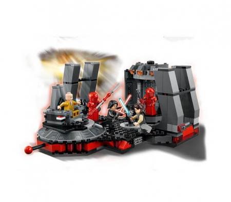 Lego Star Wars Sala tronului lui Snoke 752161