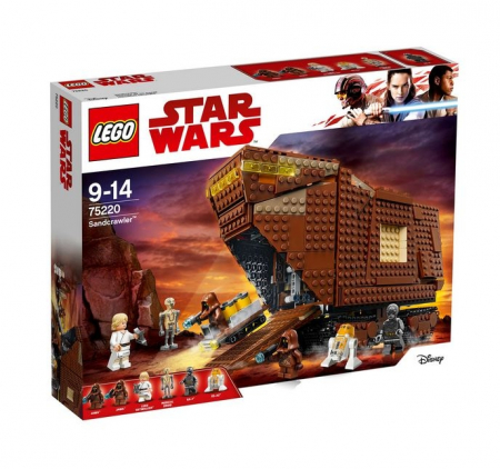 Lego Star Wars Sandcrawler 752200
