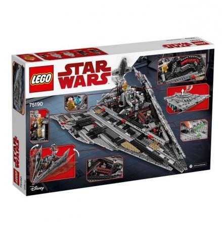 Lego Star Wars Star Destroyer al Ordinului Intai 751901