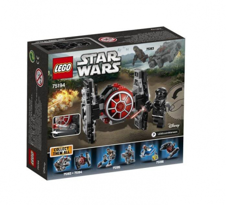 Lego Star Wars TIE Fighter al Ordinului Intai Microfighter 751943