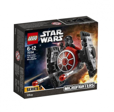 Lego Star Wars TIE Fighter al Ordinului Intai Microfighter 751940