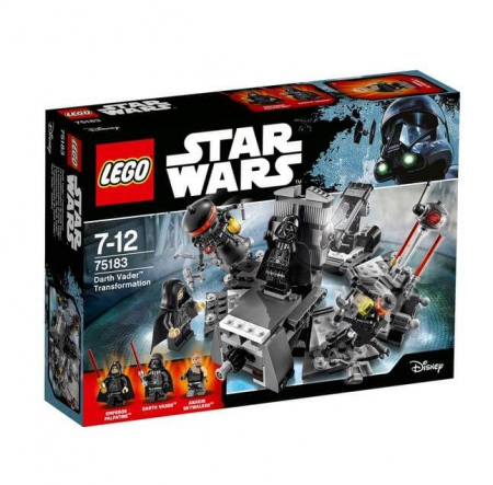 Lego Star Wars Transformarea Darth Vader 751830