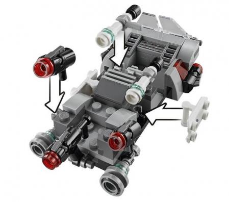 Lego Star Wars Transportor de viteza al Ordinului Intai 751661