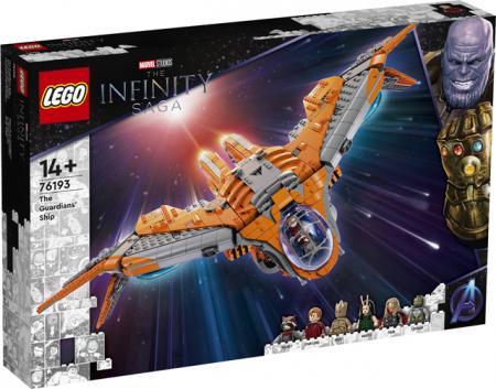 LEGO Super Heroes - Marvel - Nava Gardienilor 76193, 1901 piese [0]