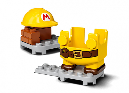 LEGO® Super Mario: Costum de puteri: Constructor - 713733