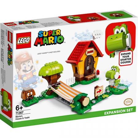 LEGO® Super Mario: Set de extindere Casa lui Mario si Yoshi - 713670