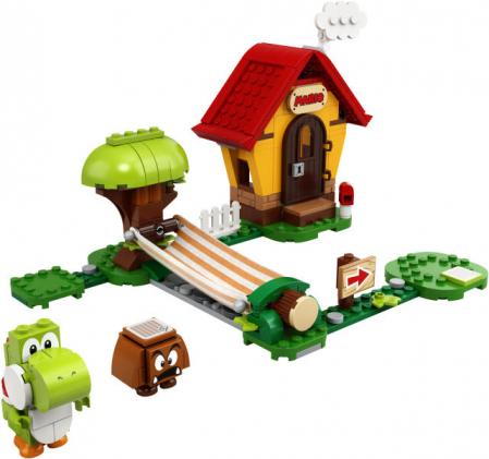 LEGO® Super Mario: Set de extindere Casa lui Mario si Yoshi - 713671