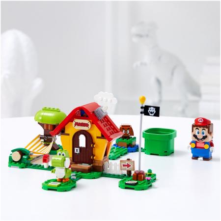 LEGO® Super Mario: Set de extindere Casa lui Mario si Yoshi - 713673